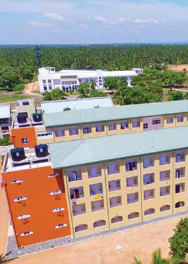 Design, Construction and Commissioning of Five Storied Building Complex at Trincomalee Campus, Eastern University, Sri Lanka