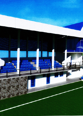 Design - Construction of Proposed Grand Stand and Infrastructure Works at Moragasmulla Football Ground