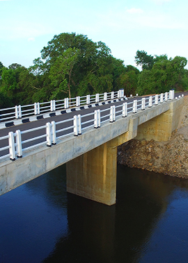 Construction of Bridge Across Malwatu Oya at Oyamaduwa, North Central Province