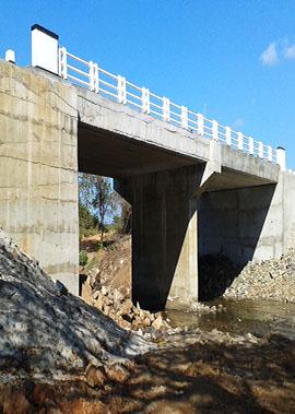 Construction Of Immediate Approaches Of Bridge No. 19/4 On Negambo - Giriulla Road (B 322)