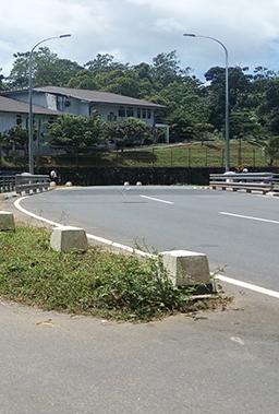 Construction Of Immediate Approaches Of Bridge No. 4/8 On Hiniduma - Opatha - Pitabeddara Road (B 156)