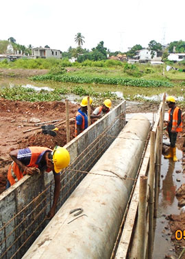 Construction and Maintenance of Kolonnawa Canal Diversion Scheme stage II